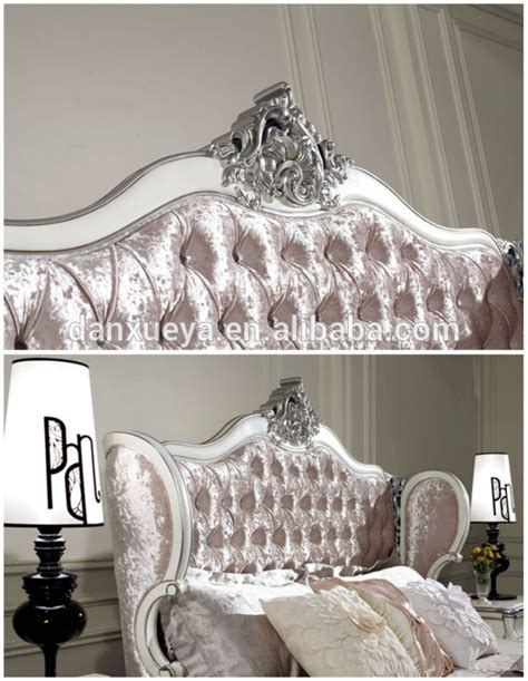 high headboard  pink velvet crystal button king size
