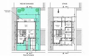Plan Facade Maison : plan maison 6 m facade ~ Melissatoandfro.com Idées de Décoration