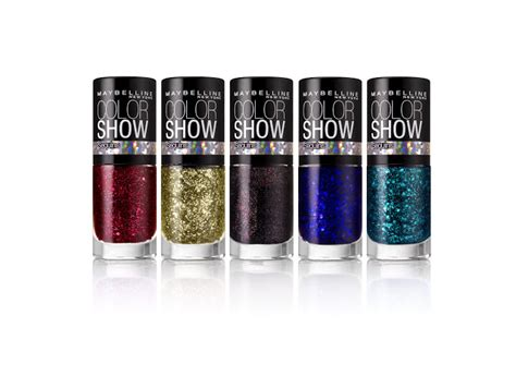 maybelline sequins nail polish makeup body stickers ny york prints colorshow nails holiday soul quins swatches photographs limited sea edition