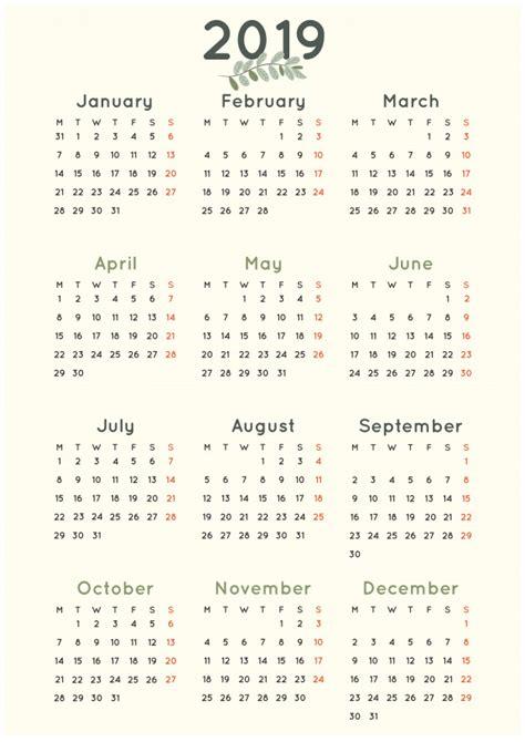 simples calendario minimalista folha verde baixar vetores