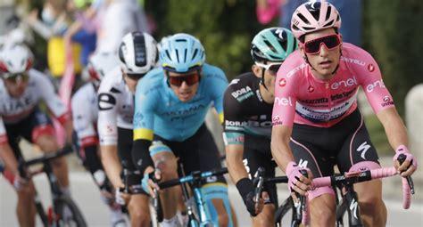 Almeida sigue siendo el líder del giro 2020   efe. Giro de Italia 2020: clasificación general tras etapa 15