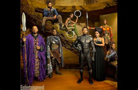 black panther cast stuns shares character deets