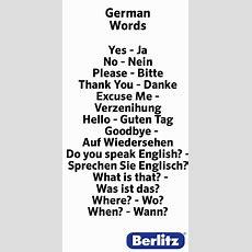 German Words  Etc Etc Etc Pinterest