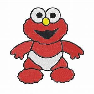 Baby Elmo Machine Embroidery Design -- 0749 ...