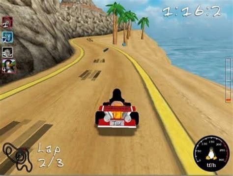 Descargar juegos de autos para computadora : Juego de Carreras de Autos Gratis, SuperTuxKart
