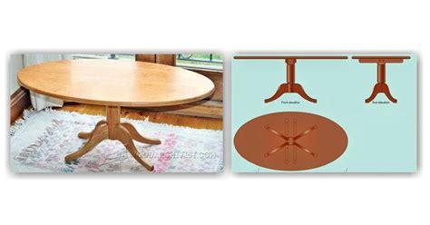 oval coffee table plans woodarchivist