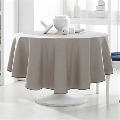 tischdecke rund modern tischdecke rund 180cm 12 verschiedene farben tischtuch tafeltuch design tisch