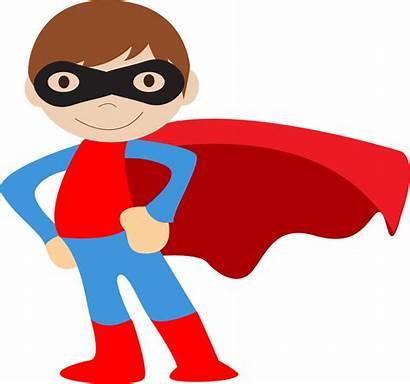 Superhero Clipart Clip Hero Super Superheroes Kid
