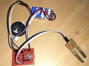 Simple Soil Moisture Sensor  Detector Circuit