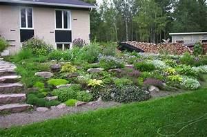 faire une rocaille en pente obasinccom With superb amenager un jardin en pente 0 1001 idees et conseils pour amenager une rocaille fleurie