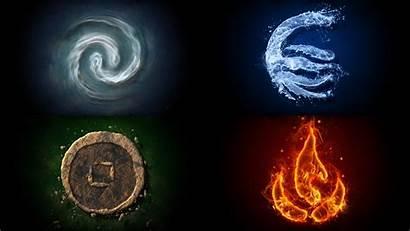 Elements Avatar Airbender Last Korra Legend Desktop