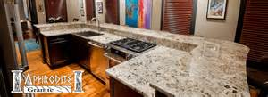 tile backsplashes kitchen aphrodite granite granite countertops st louis area