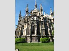 chevet de la cathédrale de Reims FRENCH GOTHIC