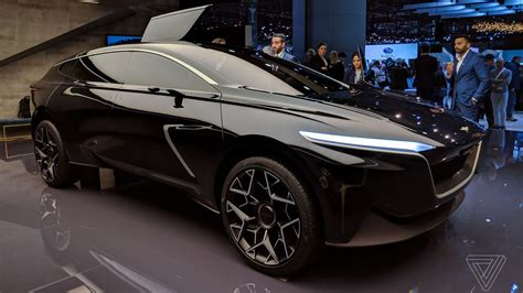 Aston Martin Lagonda All-terrain Concept At The Geneva