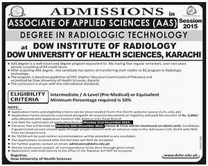 Associate Degree in Radiologic Technology Admissions in ...
