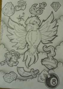 New School Tattoo Flash Sheets