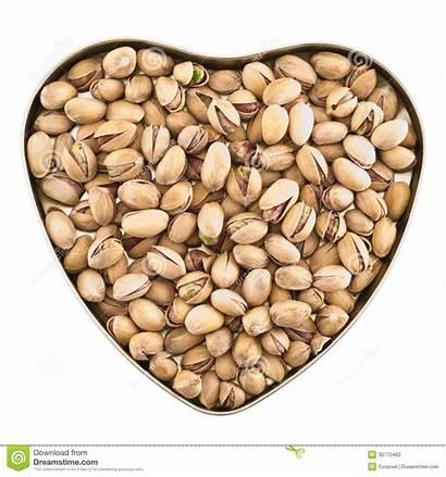 Pistachio Heart Shaped