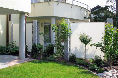 Zäune Mit Sichtschutz by Z 228 Une Sichtschutz Garten Lauterwasser Gartenbau