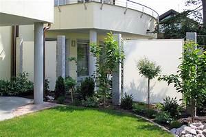 zaune sichtschutz garten lauterwasser gartenbau With garten planen mit balkon sichtschutzwand