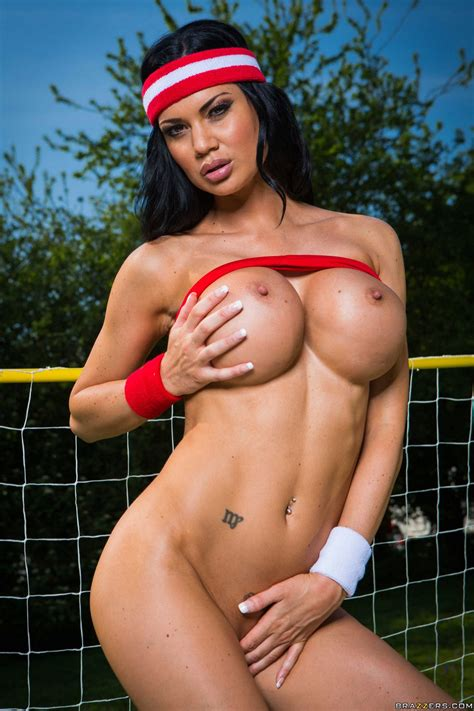 Soccer Player Jasmine Jae Showing Off Her Sexy Body Outdoor My Pornstar Book