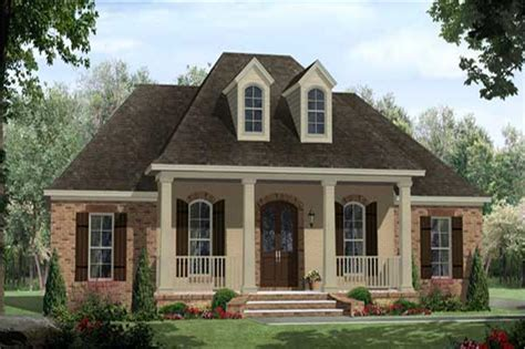 one house plans with two master suites country acadian style house plans home design 141