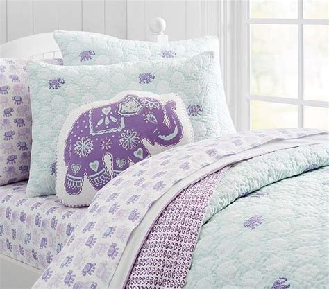 Best Pottery Barn Sheets by Stella Elephant Quilted Bedding Pottery Barn