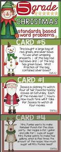 Christmas In 5th  Math Word Problems