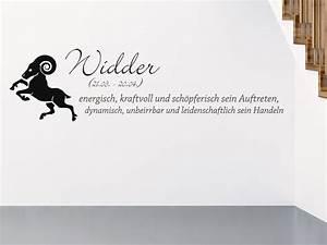 Widder Und Widder : wandtattoo sternzeichen widder wandtattoo de ~ Orissabook.com Haus und Dekorationen