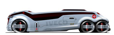 concept bus concepts iveco for war 2010