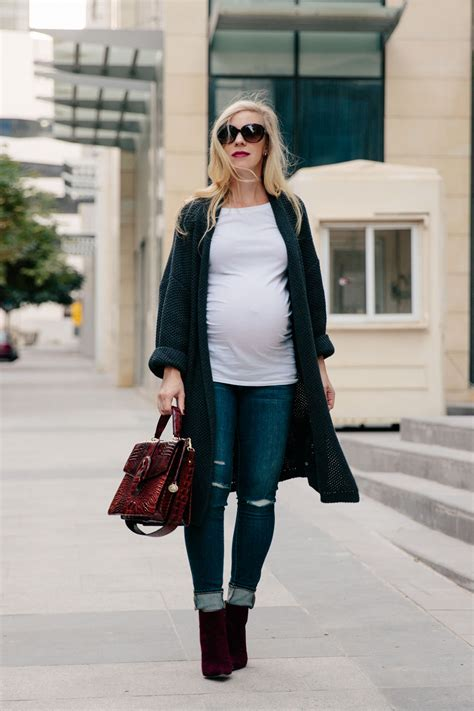 The Easiest Maternity Outfit for Fall - Meaganu0026#39;s Moda