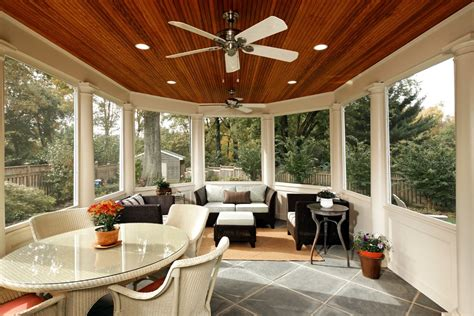 Cozy Enclosed Back Porch Ideas