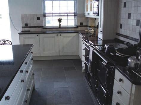 black slate kitchen floor tiles 22 best images about floor on pinterest