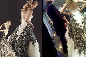 Harry potter wedding dress on fleur delacour by alexander for Fleur delacour wedding dress alexander mcqueen