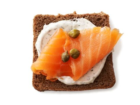 smoked salmon canap 233 s