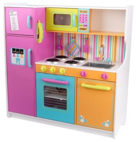 Kidkraft Deluxe Big And Bright Kitchen Toy  Contemporary
