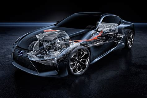 Hybrid Technology by Lexus Lc500h New Coupe Gets Clever Complex Hybrid Tech