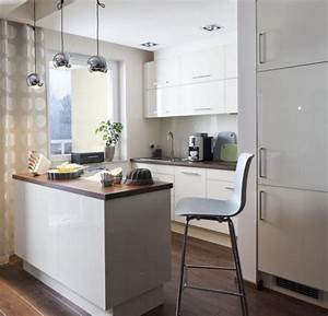 Glasplatte Für Küche : kleine offene k che ~ Michelbontemps.com Haus und Dekorationen