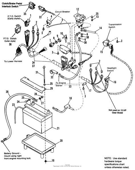 Simplicity Starter Solenoid Wiring Diagram by Simplicity 1692287 Broadmoor 15hp Gear Parts Diagram