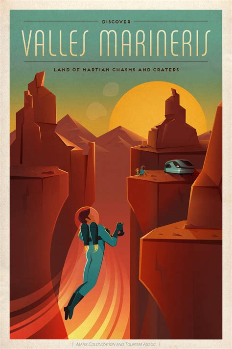 planet bureau spacex just made a bunch of mars travel posters motherboard
