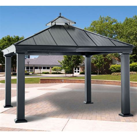Gazebo Costo Fantastic Royal Hardtop Gazebo Costco Garden Landscape