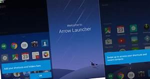 Widget ed icon pack nel nuovo Arrow Launcher