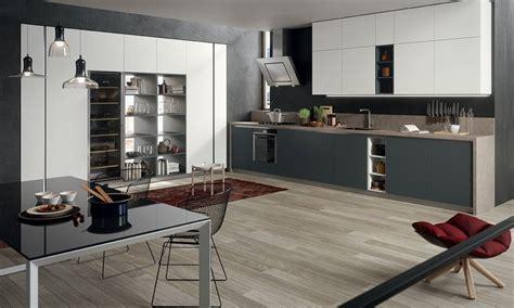 cuisine anthracite et bois davaus cuisine bicolore bois et gris avec des