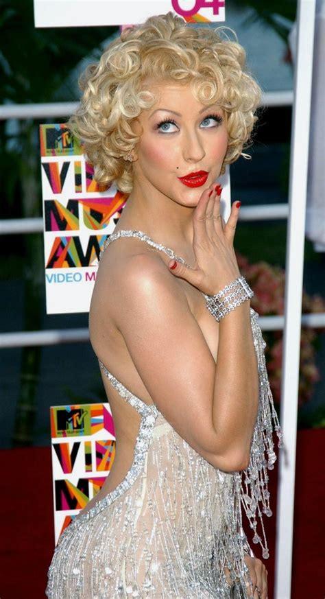 throwback mtv vma hair  makeup   glamour