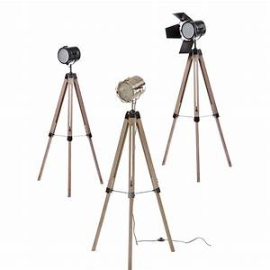 nordic loft industrial vintage tripod floor lamp retro With retro photographers floor lamp