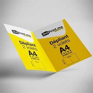 Dépliant 2 Volets : flyers d pliants ~ Melissatoandfro.com Idées de Décoration