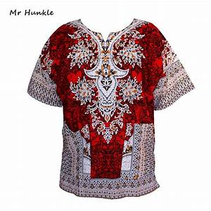 mr hunkle dashiki top women vintage t shirt traditional With robe t shirt femme