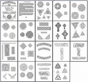 celtic wood carving patterns