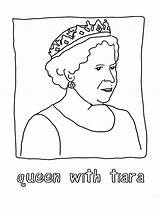Queen Coloring Pages Printable Recommended Mycoloring sketch template