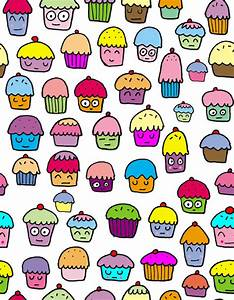 Twitter Backgrounds: New cupcake background wallpaper