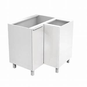 meuble cuisine angle alina elia meuble de cuisine bas With meuble 80x80